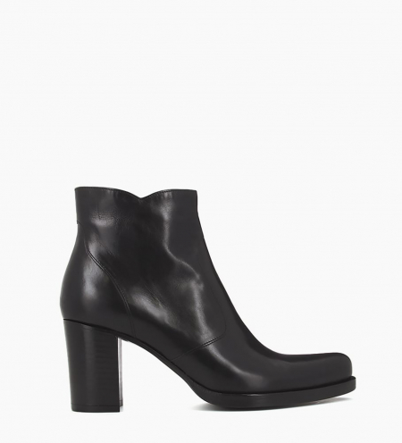Ankle boot with block heel and zip PADDY 7