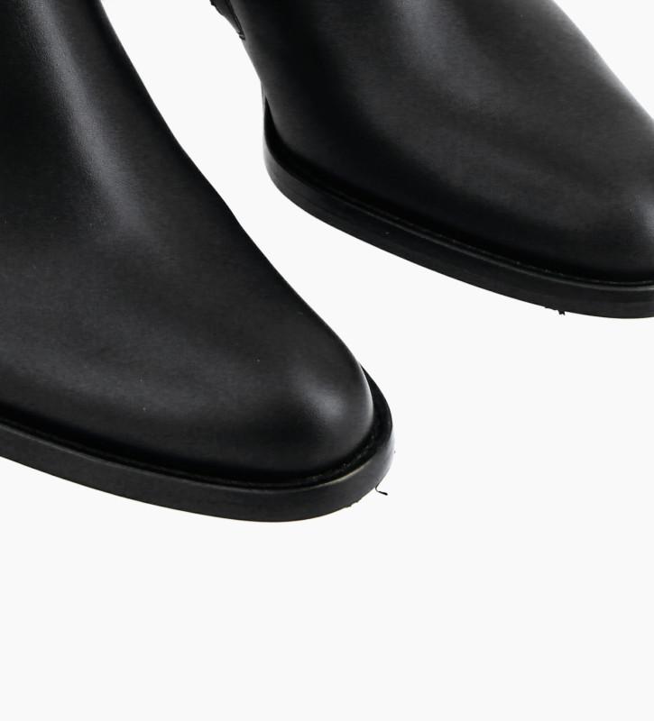 FREE LANCE Bottine à talon à zip - Legend 7 - Cuir de veau lisse- Noir