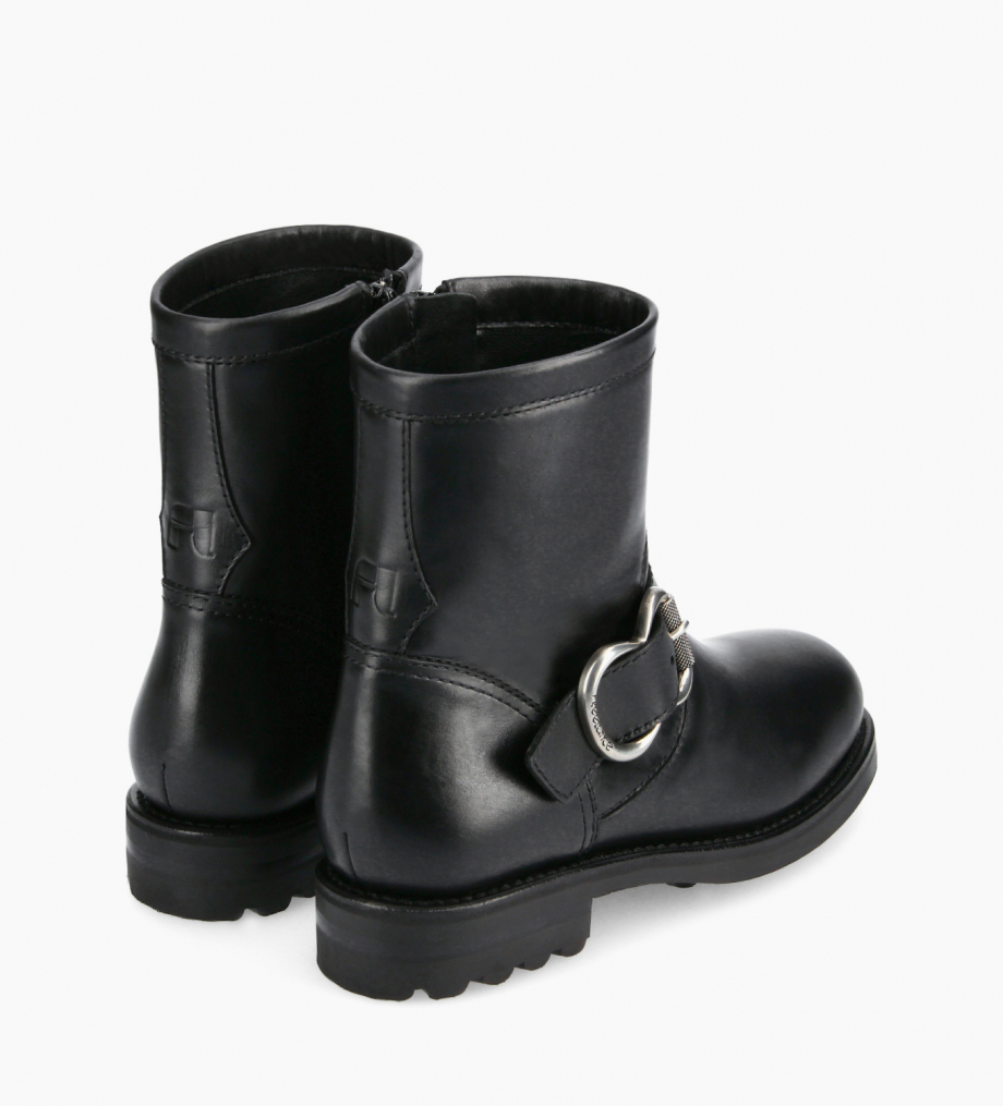 FREE LANCE Biker boot - Thorn 30 - Smooth leather - Black