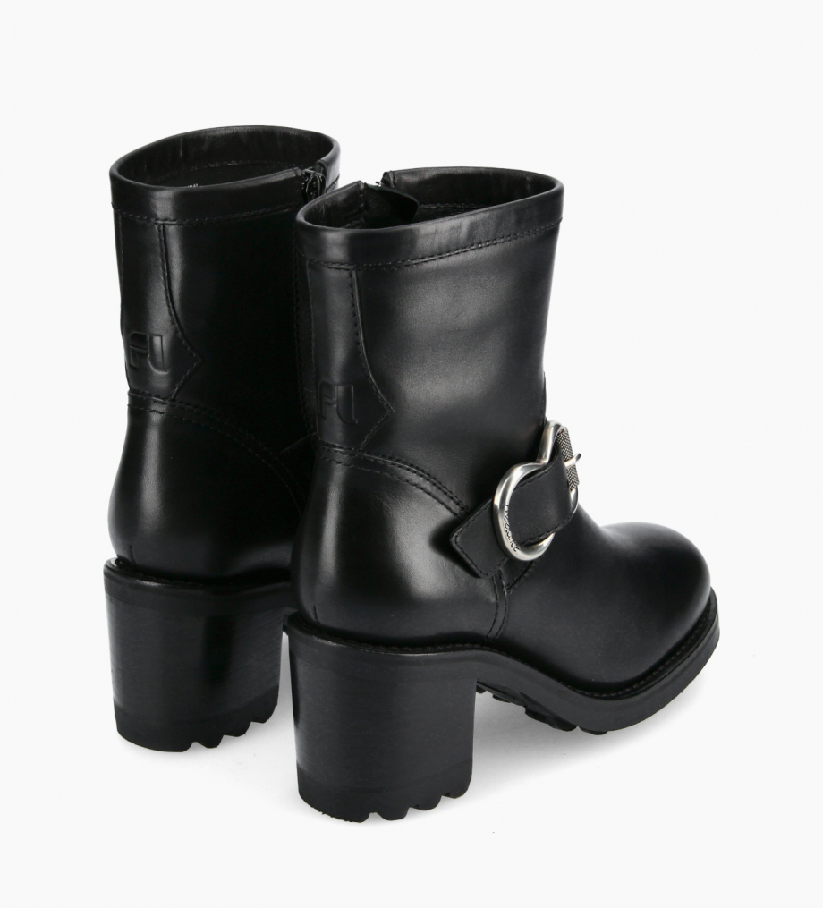 FREE LANCE Biker boot - Thorn 75 - Smooth leather - Black