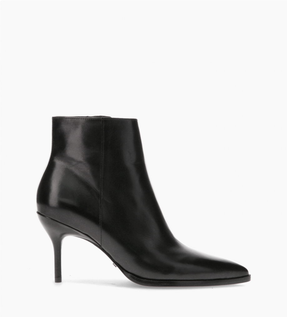 FREE LANCE Ankle boot with stiletto heel - Jamie 7 - Smooth calf leather - Black