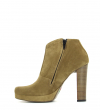 OKLY 7 LOW ZIP BOOT - SONIA EXTRA - TAUPE