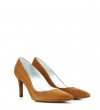 ITLYS 7 PUMPS - CHEVRE VELOURS - BRANDY