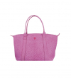 MINI GUY BAG - AUTRUCHE VERITA - ROSE