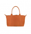MINI GUY BAG - AUTRUCHE VERITA - ORANGE