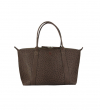 MINI GUY BAG - AUTRUCHE VERITA - MARRON