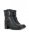 BIKER 7 MINI STRAP - DIAMENTE WASH - NOIR