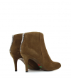 KETY 7 ZIP BACK BOOT - SONIA EXTRA - CIGARE