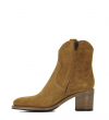 MANSORY 7 WEST ZIP BOOT NAIL - SONIA EXTRA - CARAMEL