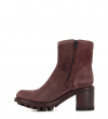 JUSTY 7 SMALL GERO BUCKLE - BRONX LIGHT - BORDEAUX