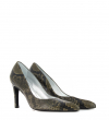 FOREL 7 PUMPS - SNAKE PRINT - MILITAIRE