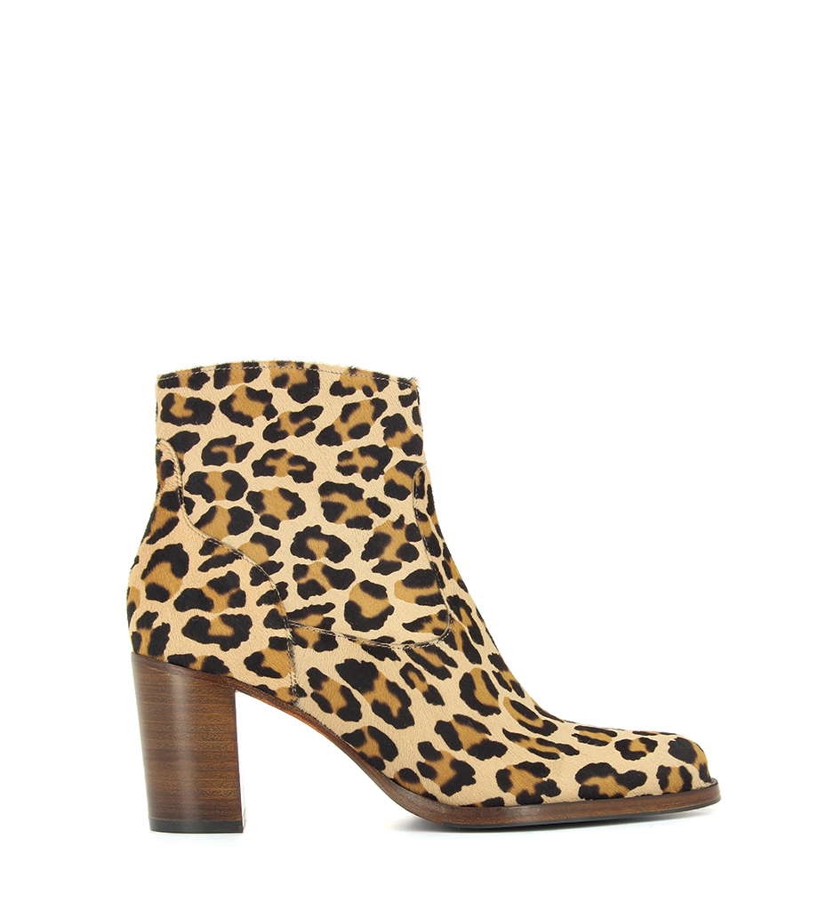 LEGEND 7 ZIP BOOT - PONY LEOPARD - NATUREL
