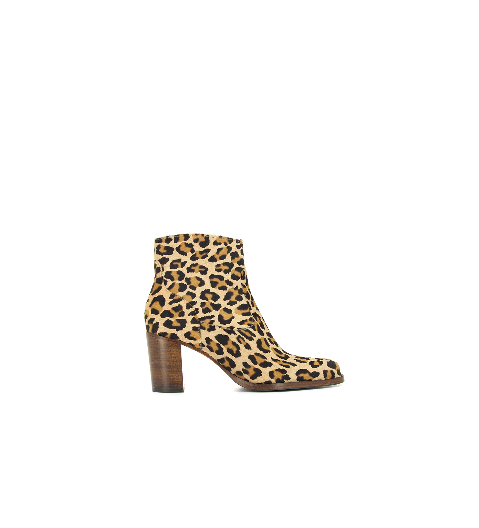 LEGEND 7 ZIP BOOT , PONY LEOPARD , NATUREL