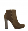 OKLY 7 STAR ZIP BOOT - VEAU VELOURS - MOUSSE