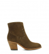 INESS 7 STAR ZIP BOOT - VEAU VELOURS - MOUSSE