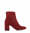 EAGLES 7 ZIP BOOT - VEAU VELOURS - BORDEAUX