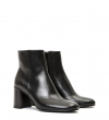 EAGLES 7 ZIP BOOT - VEAU LISSE - NOIR