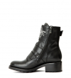 DAKOTA 4 RANGER ROSE BOOT - CUIR LISS BRILL - NOIR