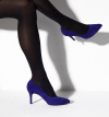 KETY 7 PUMPS - VEAU VELOURS - IRIS