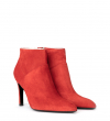 FOREL 7 LOW ZIP BOOT - CUIR VELOURS - GINGER