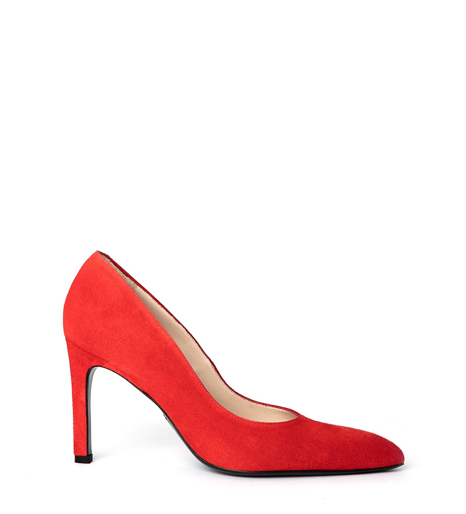 FOREL 7 PUMPS - CUIR VELOURS - GINGER