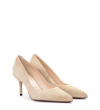JONIE 7 PUMPS - CHEVRE VELOURS - SABLE