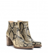 PADDY 7 ZIP BOOT - SNAKE PRINT - NATUREL
