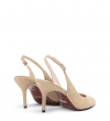 JONIE 7 SLINGBACK PUMP - CHEVRE VELOURS - SABLE