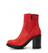 JUSTY 9 SMAL GER BUC - CUIR VELOURS - GINGER