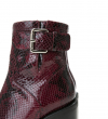 JUSTY 9 SMAL GER BUC - SNAKE PRINT - BORDEAUX