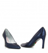 FOREL 7 PUMPS - CUIR METALGRAIN - MARINE
