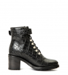 DAYTONA 7 RANDO BOOT - CROCO FIRST - NOIR