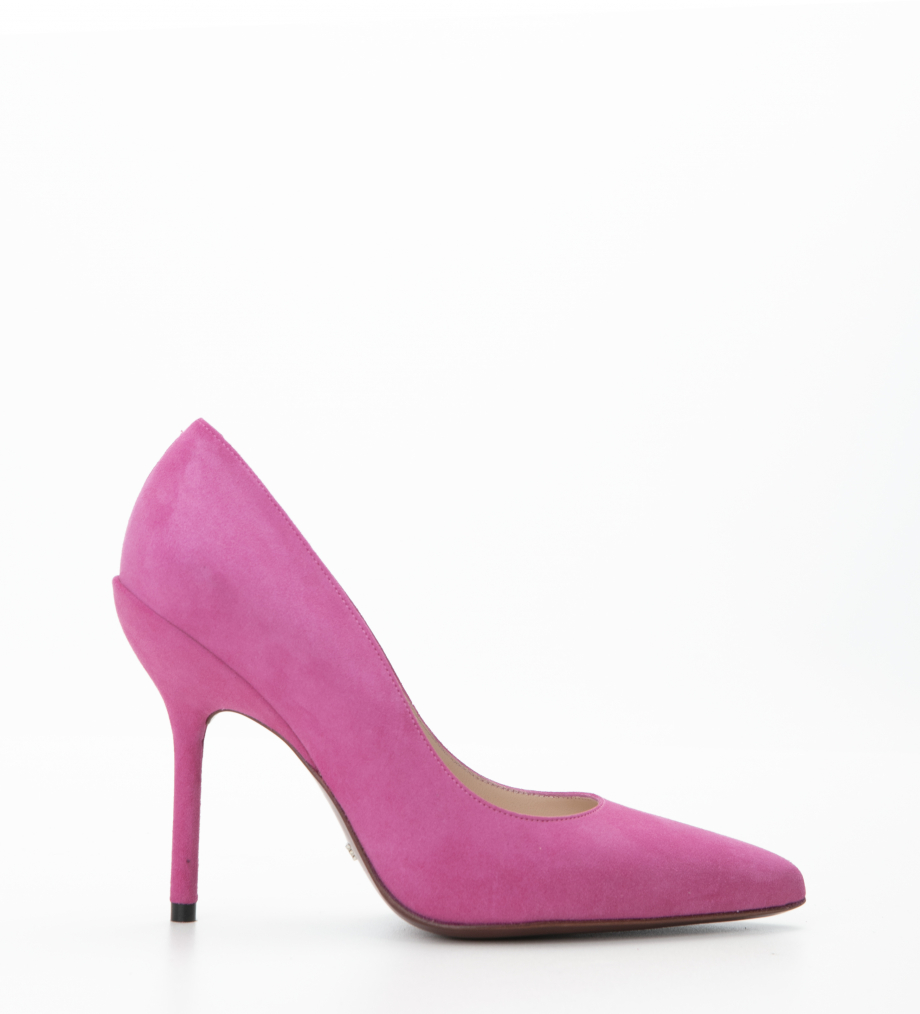 JONIE 10 PUMP - CHEVRE VELOURS - MAGENTA