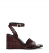 WILLOW 8 ANKL STRA S - CROCO FIRST - WINE