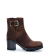 Justy 7 Small Gero Buckle - Poils Sauvage - Marron