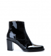 Legend 7 Zip Boot - Cuir Vernis - Noir