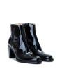 Legend 7 Zip Boot - Cuir Vernis - Noir