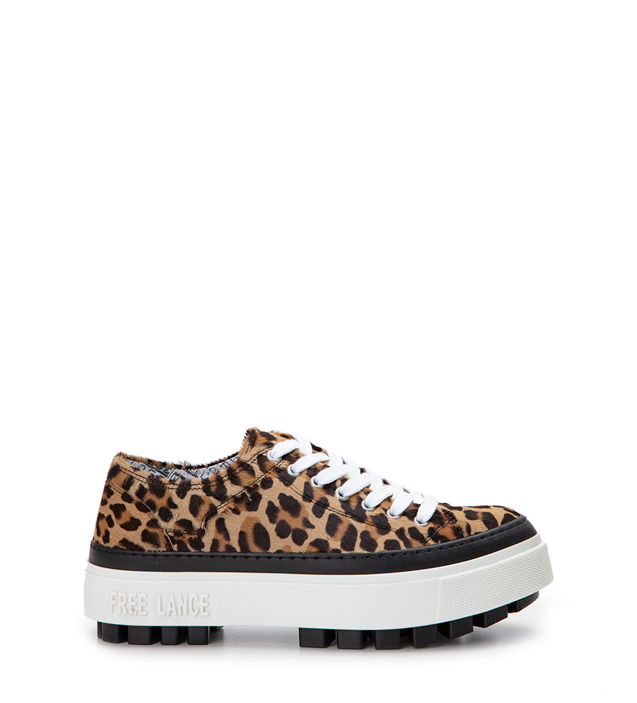 Nakano Low Top Sneakers - Poils Leopard - Leopard