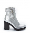 Justy 9 Small Gero Buckle - Metallico - Argent