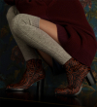 Legend 7 Zip Boots - Pony Zebre - Ruggine