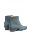 JANE 5 WEST ZIP BOOT - CUIR VELOURS - STONE
