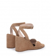 WILLOW 8 ANK ST SAND - CUIR VELOURS - DUNE