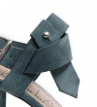 ELISA 4 SDAL STRPBUC - CUIR VELOURS - STONE