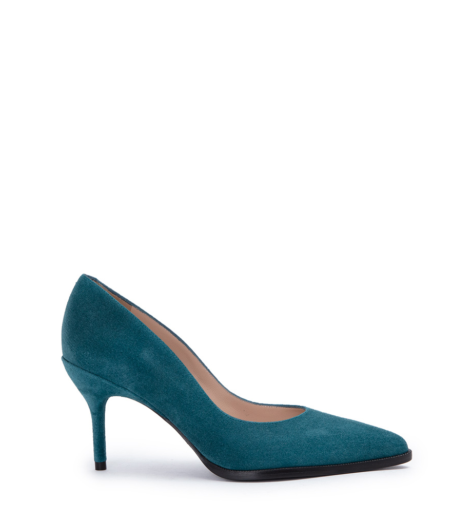JAMIE 7 PUMPS - CUIR VELOURS - PAON
