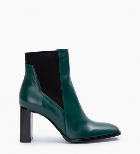 July 8 Asymetrique Chelsea Boots - Cuir Nappa - Forest