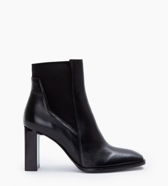 July 8 Asymetrique Chelsea Boots - Cuir Nappa - Noir