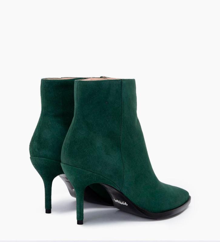 FREE LANCE Jamie 7 Zip Boots - Cuir Cachemire - Forest