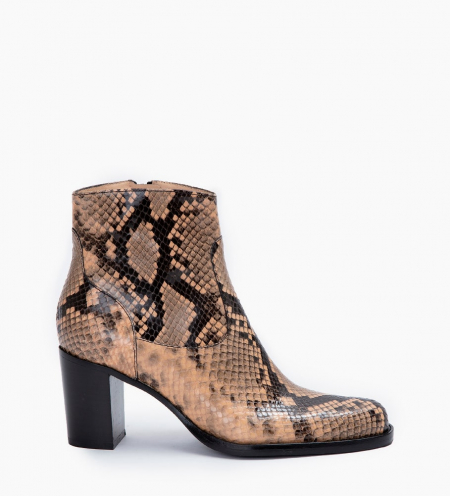 LEGEND 7 ZIP BOOTS - SNAKE PRINT - SABLE