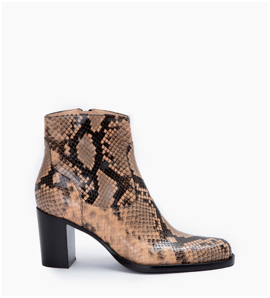 LEGEND 7 ZIP BOOT - SNAKE PRINT - SABLE