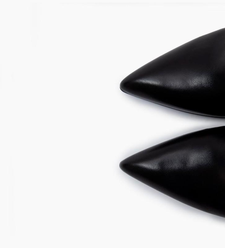 FREE LANCE Forel 7 Bracelet Zip Boots - Veau Lisse Brillant - Noir